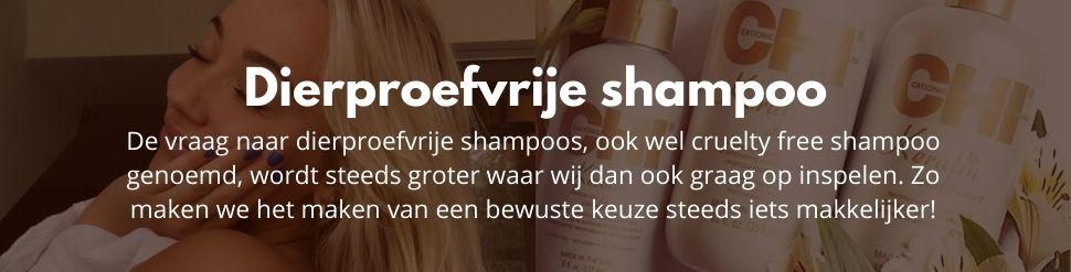 Dierproefvrije shampoo