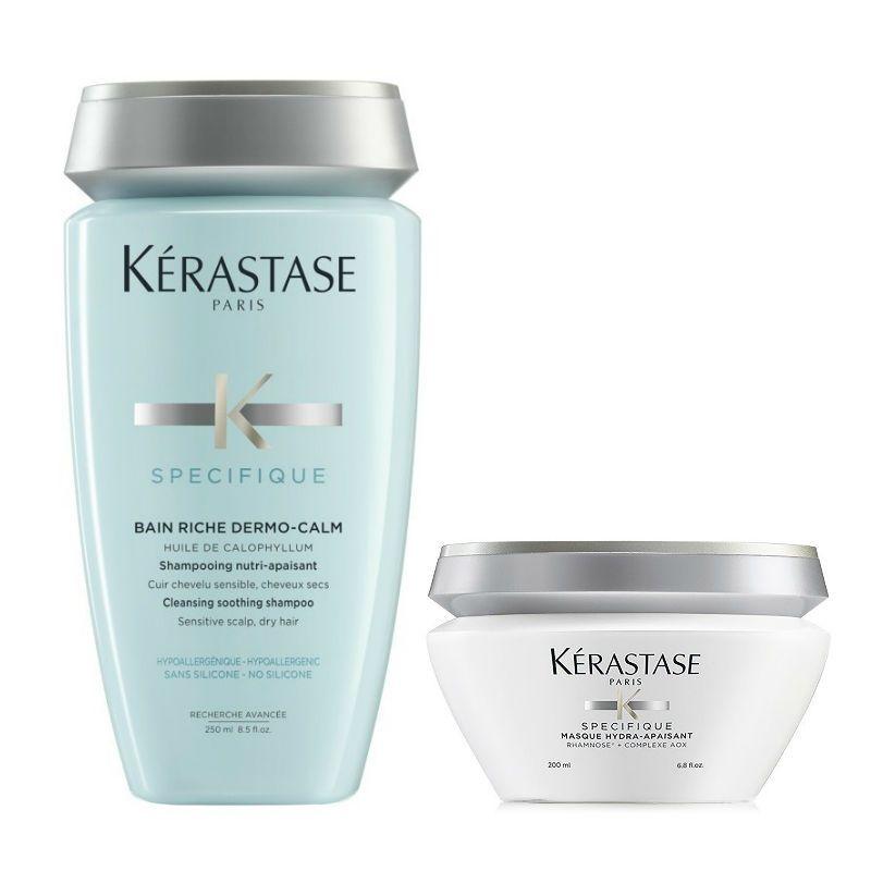 Kérastase Specifique Riche Shampoo + Haarmasker voor een Gevoelige Hoofdhuid