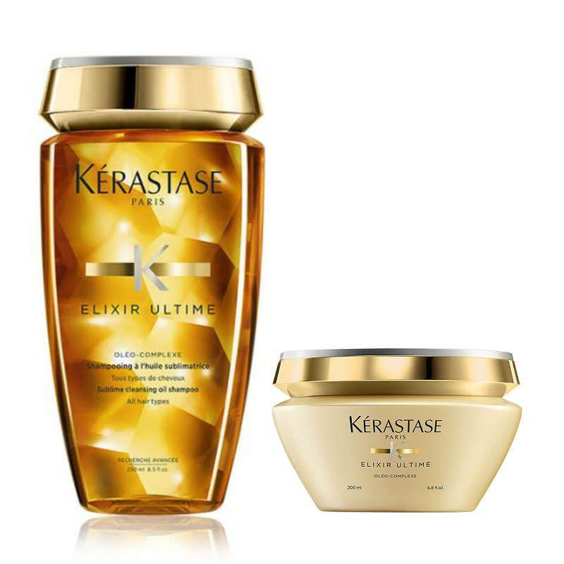 Kérastase Elixir Ultime Glans Shampoo + Haarmasker