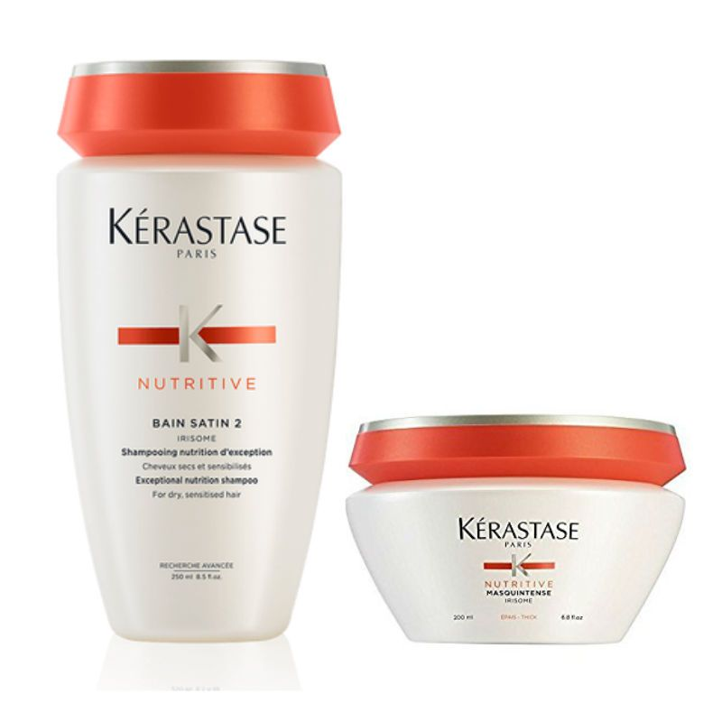 Kérastase Nutritive Shampoo + Haarmasker voor Zeer Droog Haar