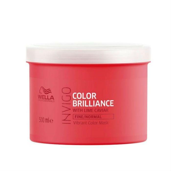 Wella Brilliance Haarmasker Fijn/Normaal Haar