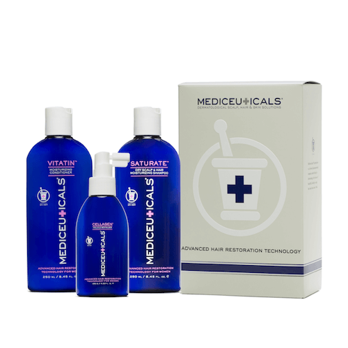 Mediceuticals  Advanced Hair Restoration for Women kit Dry
