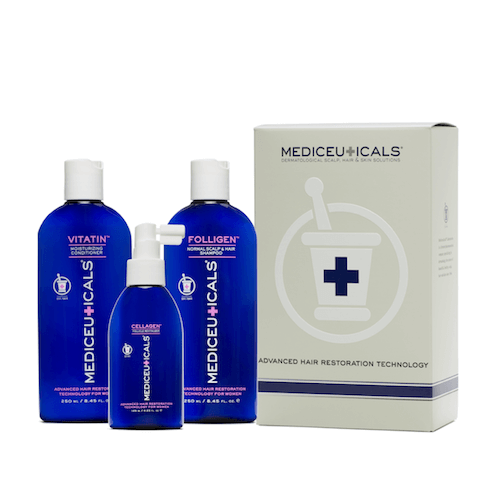 Mediceuticals  Advanced Hair Restoration for Women kit Normal