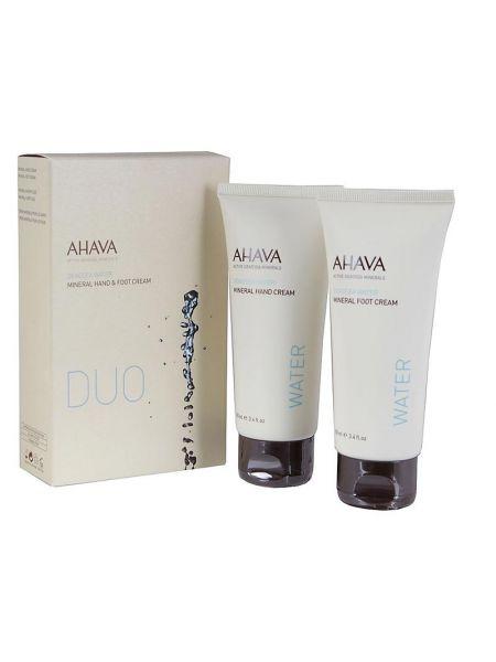 AHAVA Kit Duo Water Hand & Foot Cream