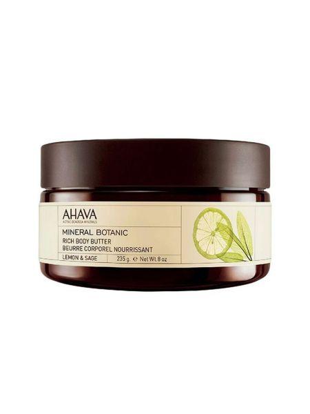 Ahava Mineral Botanic Body Butter Lemon & Sage
