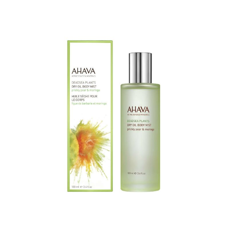 AHAVA Dry Oil Body Mist Prickly Pear & Moringa