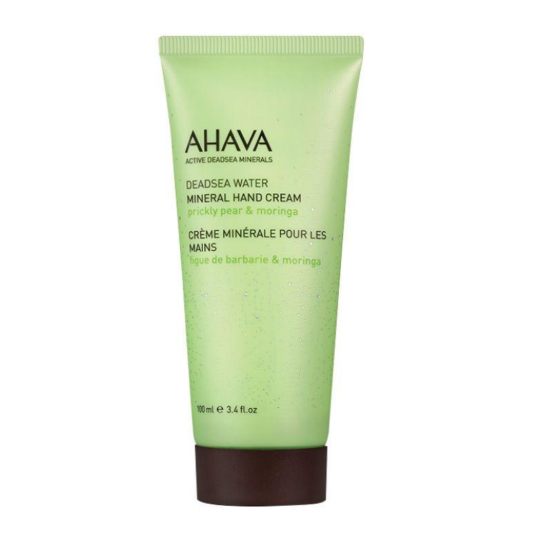 Ahava Deadsea Water Mineral Hand Cream Prickley Pear Moringa 100ml