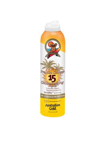 Australian Gold SPF15 Premium Coverage Continuous Spray
