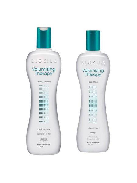 Biosilk Volumizing Therapy Duo Shampoo + Conditioner 355 ml