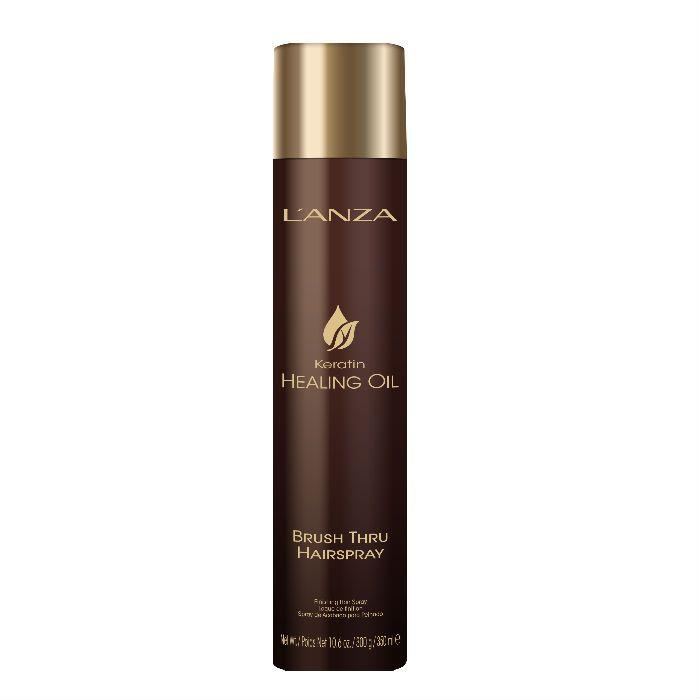 L'anza Keratin Healing Oil Brush Thru Hairspray