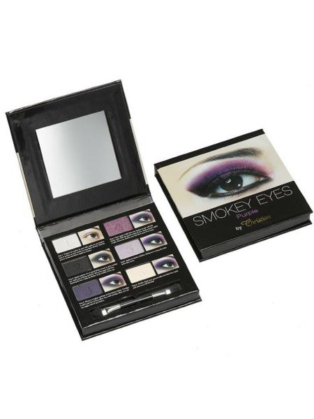 Christian Smokey Eyeshadow Palet Purple