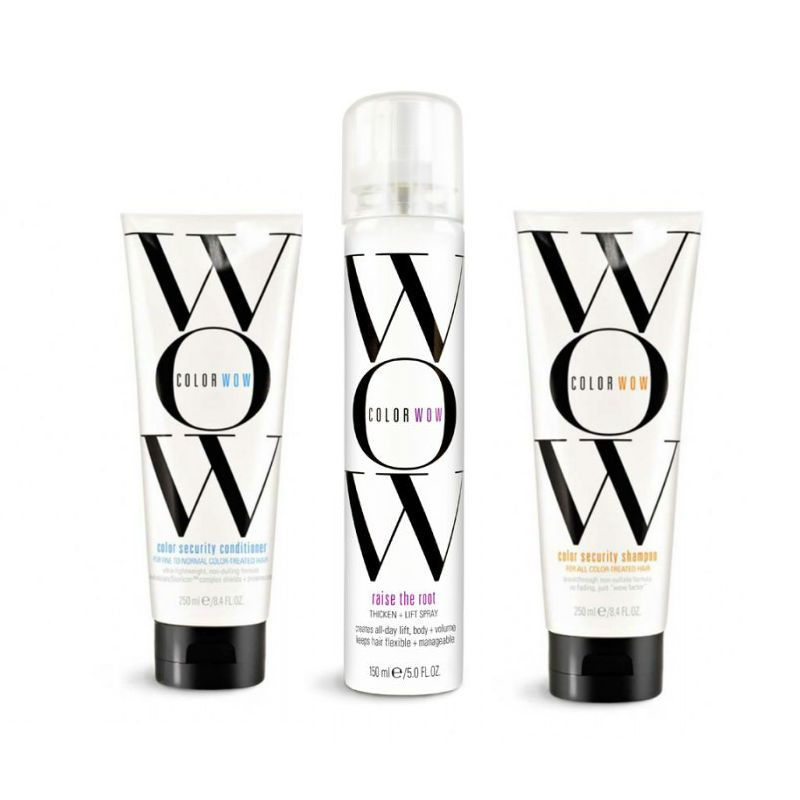 Color Wow Normal-Fine Hair Care & Style Set