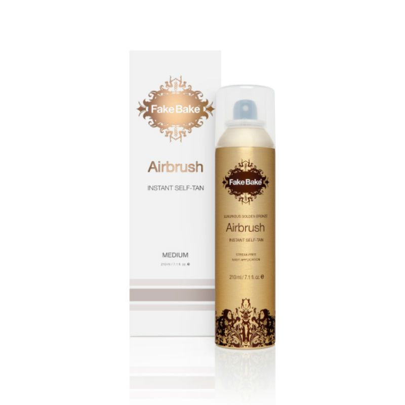 Fake Bake Airbrush Instant Self-Tanning Spray (Aerosol) 210 ml