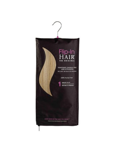 Flip-In Hair Extensions The Original Cinnamon/Light Blonde 18/613