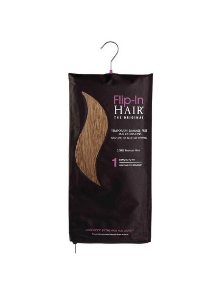 Flip-In Hair Extensions The Original Dark Cinnamon 10