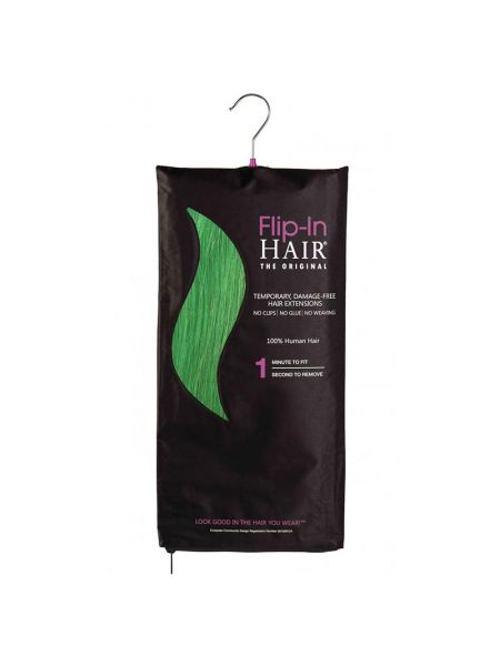 Flip-In Hair Extensions The Original Emerald Green