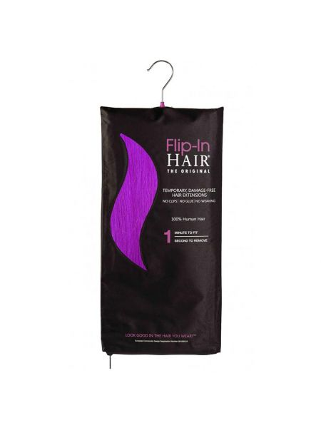 Flip-In Hair Extensions The Original Purple