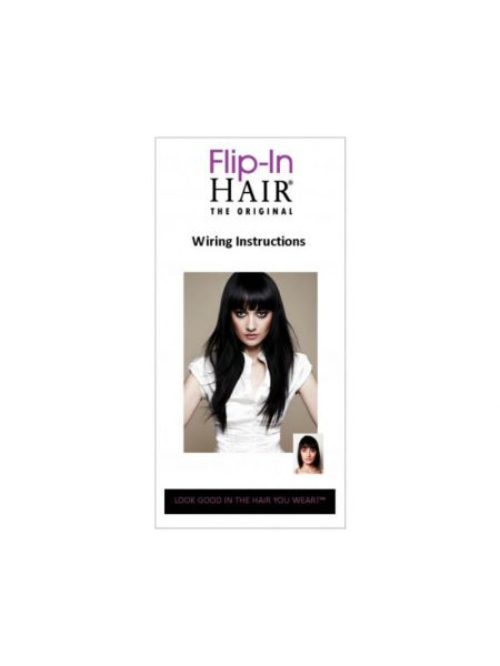 Flip-In Hair Extensions Wire Replacement Pack