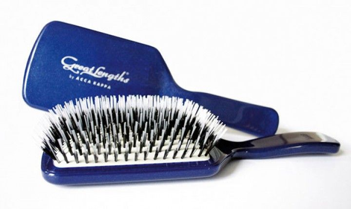 Great Lengths Paddle Borstel Acca Kappa Blauw