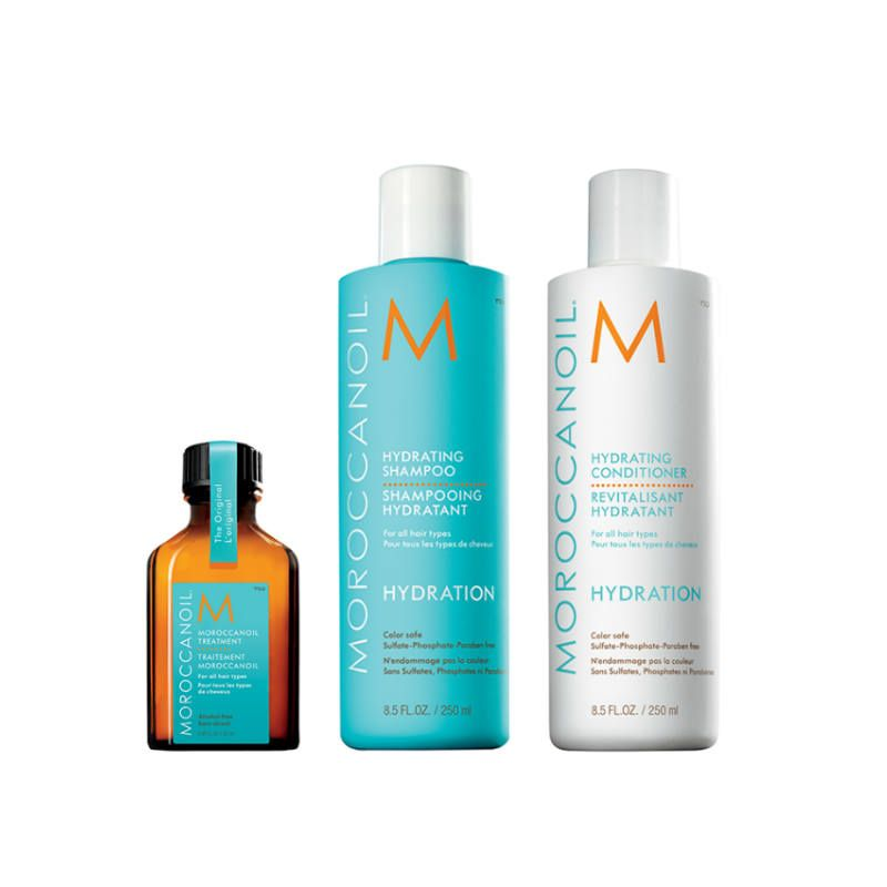 Moroccanoil Hydrating Treatment Set incl. GRATIS Moroccanoil Treatment
