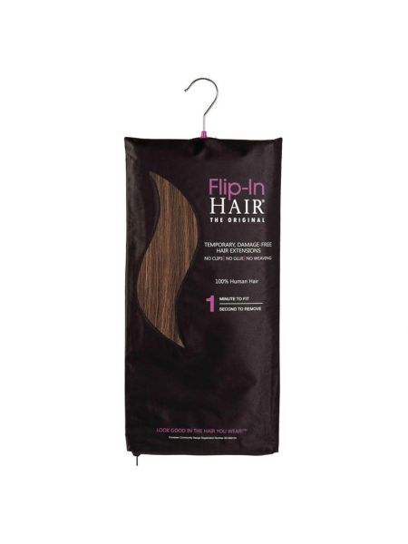 Flip-In Hair Extensions The Original Layered Rich Brown/Butterscotch/Rich Brown 4-27+4