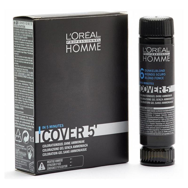 L'Oréal Professionnel Homme Cover 5 3*50ml