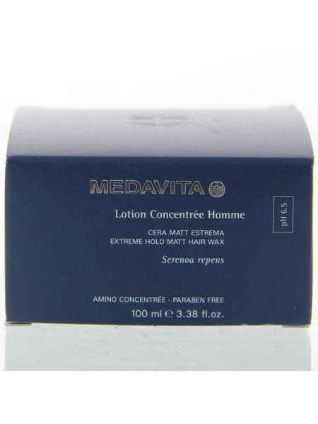 Medavita Lotion Concentrée Homme Extreme Hold Matt Hair Wax