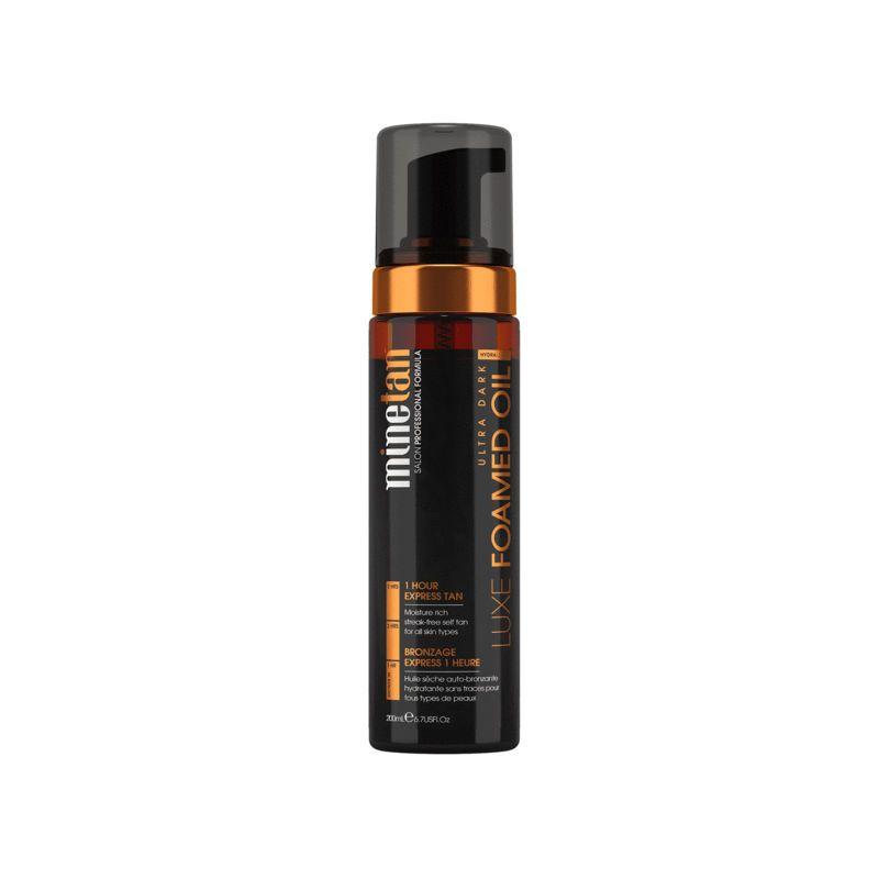 MineTan Luxe Foamed Oil Ultra Dark Self Tan