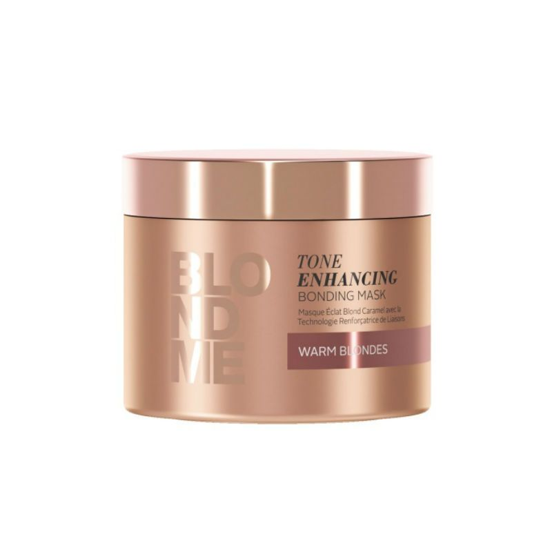 Schwarzkopf BlondMe Care Enhancing Haarmasker Warm 200ml