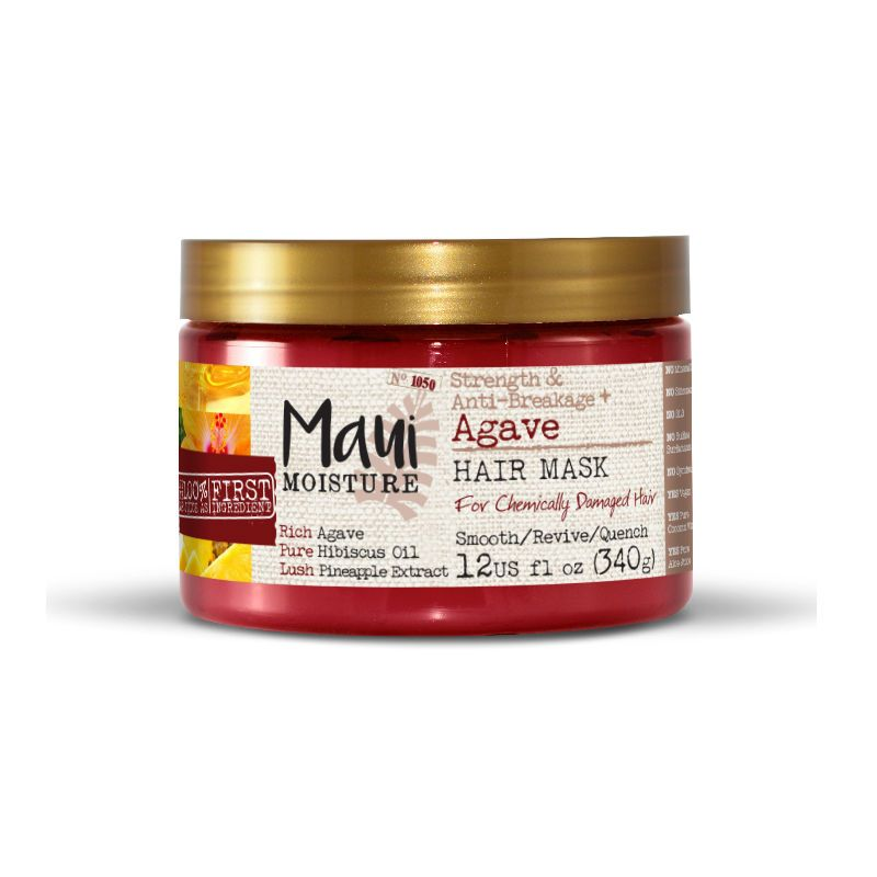 Maui Moisture Strength & Anti-breakage Agave Haarmasker 340 g