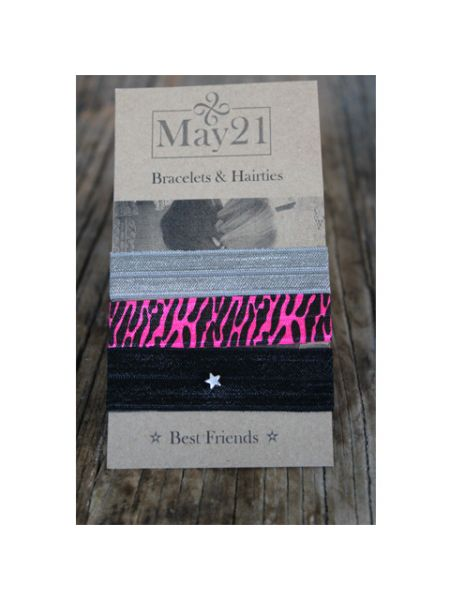 May21 Best Friends haarelastiek/armband 306