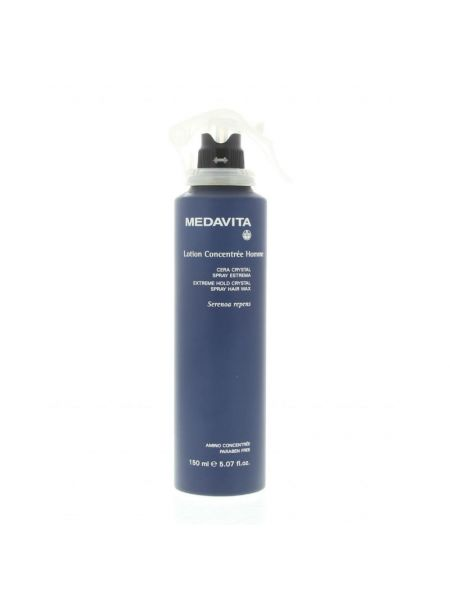 Medavita Lotion Concentrée Homme Extreme Hold Crystal Spray Wax