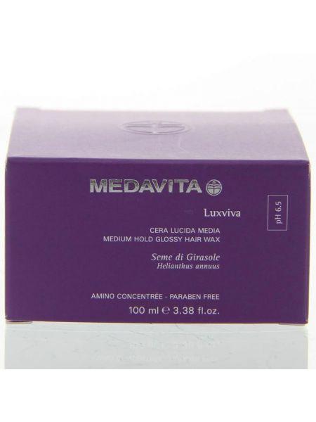 Medavita Luxviva Medium Hold Glossy Hair Wax