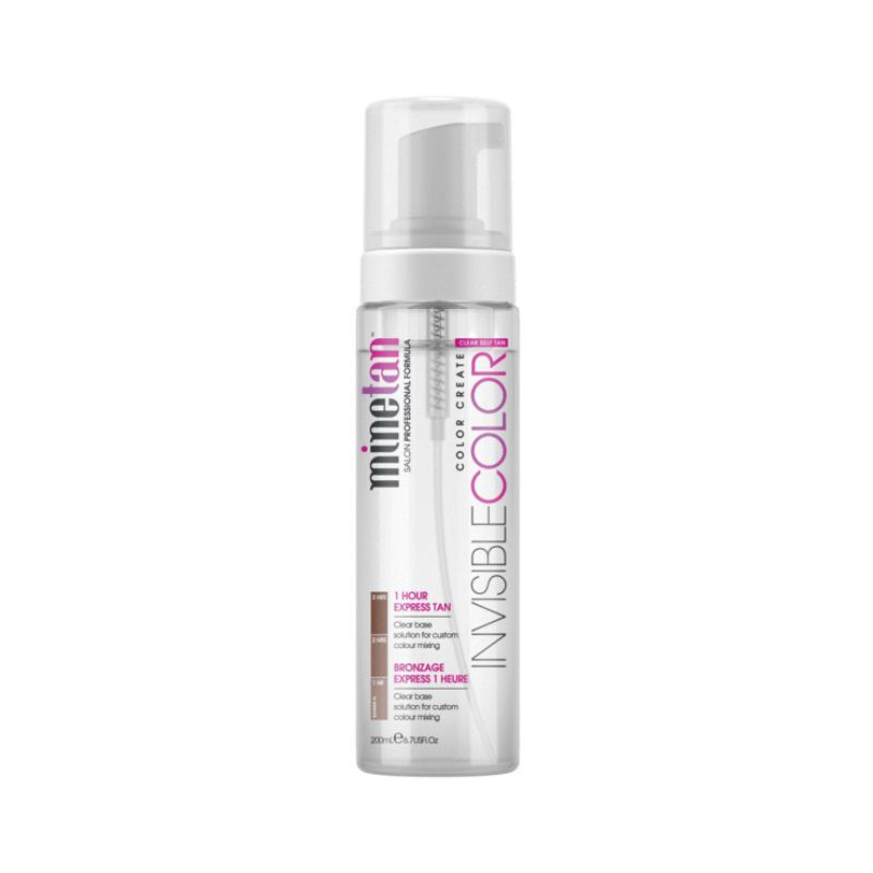 MineTan Invisible Color Everyday Glow Gradual Tan Lotion