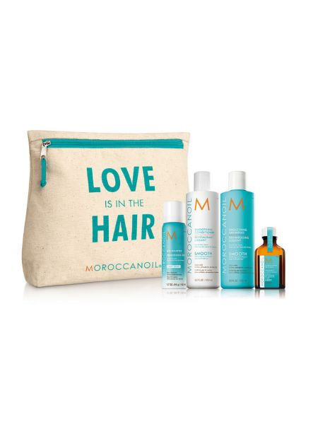 Moroccanoil Love is in the Hair Smooth Kit Light