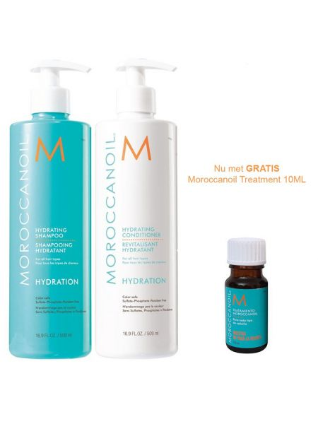 Moroccanoil Hydration Duo 500ml + 10ml treatment