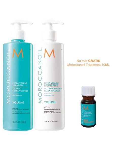 Moroccanoil Volume Duo 500ml + 10ml treatment