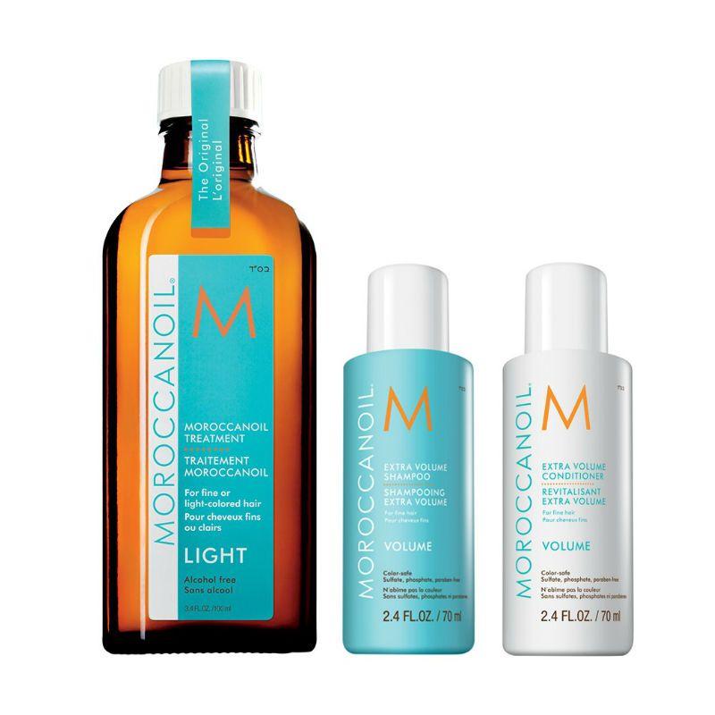 Moroccanoil Volume trio kit