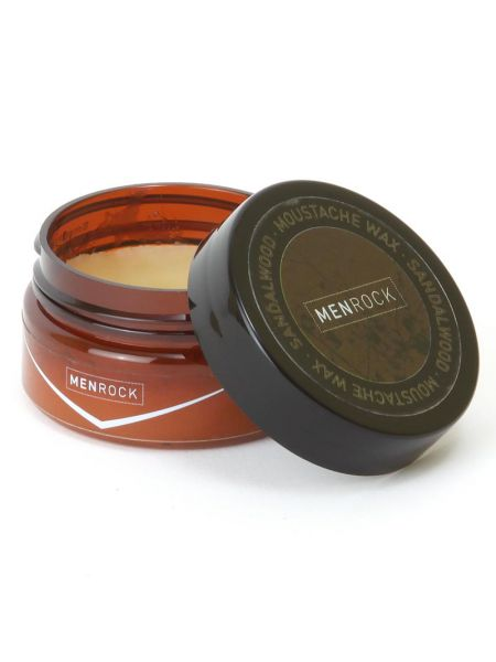 Men Rock Moustache Wax Sandalwood