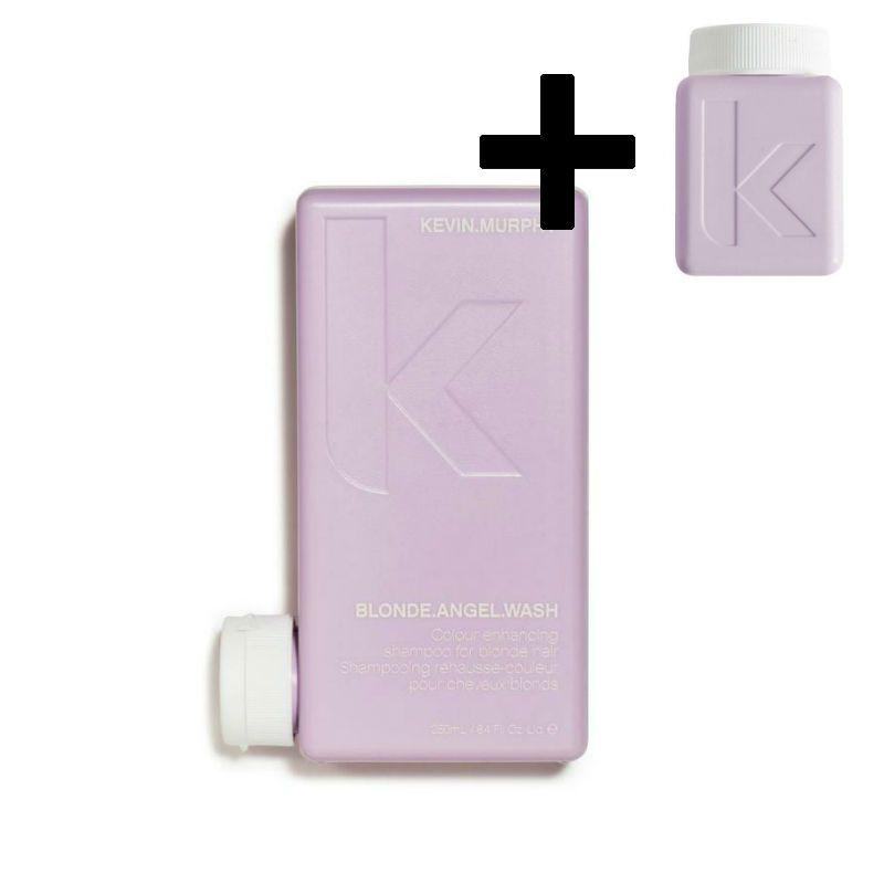 Kevin Murphy Blonde Angel Wash Shampoo + GRATIS Blonde Angel Conditioner 40ml