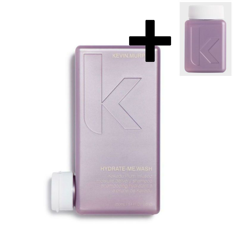 Kevin Murphy Hydrate Me Wash Shampoo + GRATIS Hydrate Me Rinse Conditioner