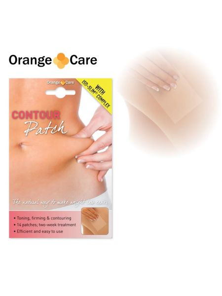 Orange Care Contour Patches