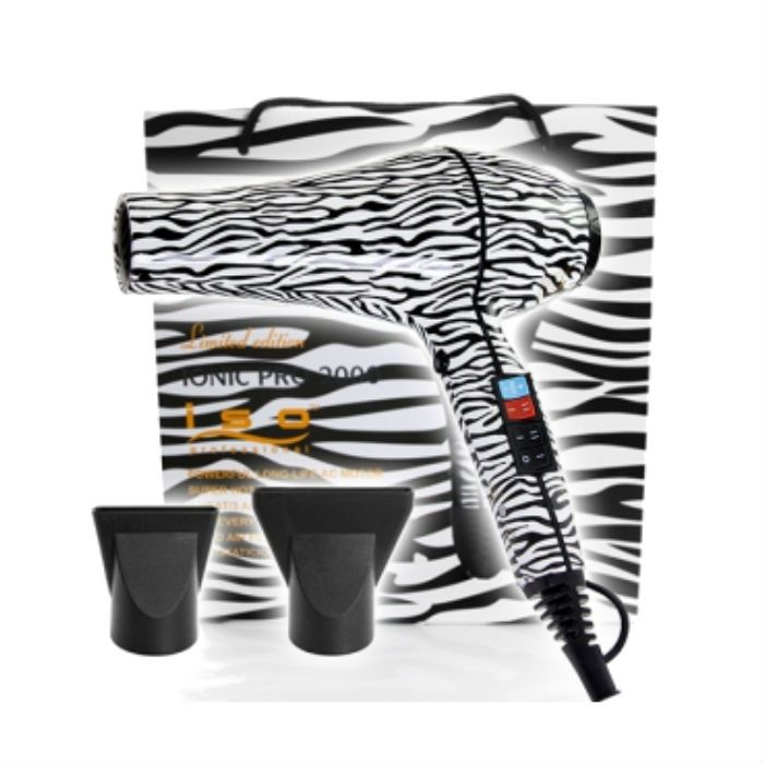 ISO Föhn 2000W White Zebra