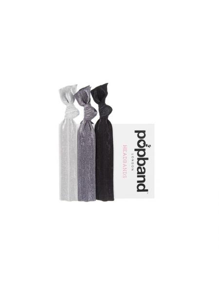 Popband London Multipack Black Headbands