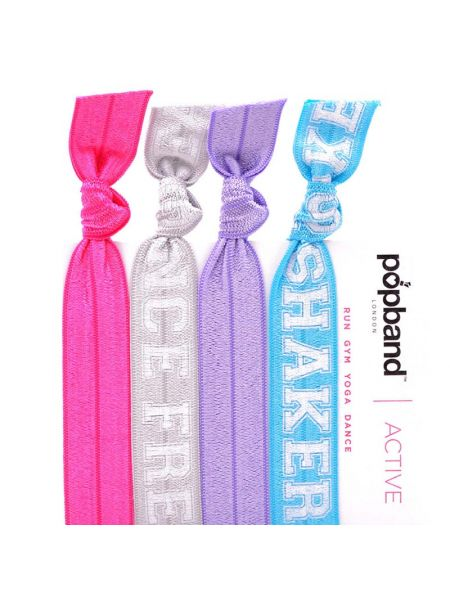Popband London Active Hairties Booty Shaker, Dance Freak