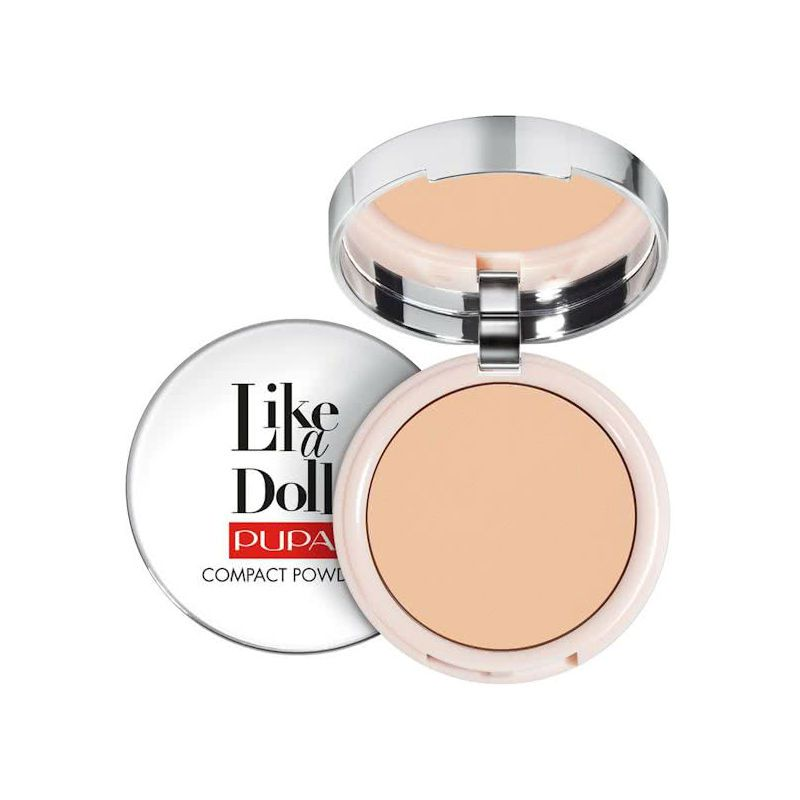 PUPA Like A Doll Nude Skin Compact Powder SPF 15 003 Natural Beige