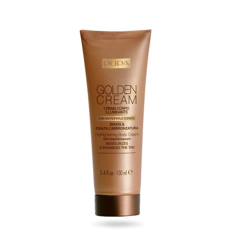 PUPA Golden Cream Highlighting Body Crème