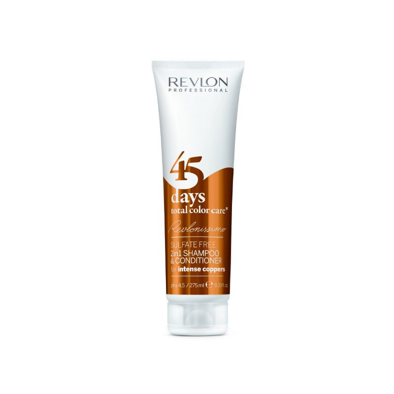 Revlon 45 Days Color Shampoo & Balm Intense Copper - 275 ml