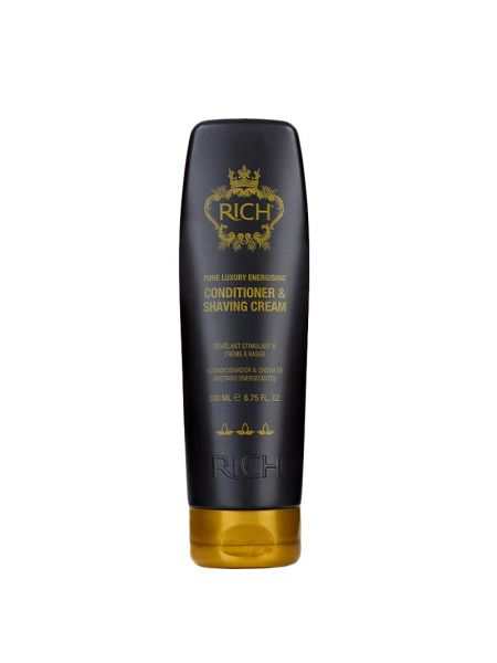 Rich Pure Luxury Energising Conditioner & Shaving Cream