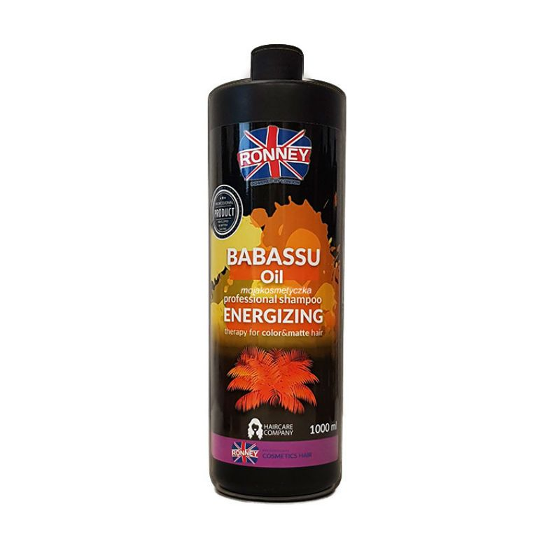 PROFESSIONAL SHAMPOO BABASSU OIL ENERGIZING THERAPY FOR COLOR AND MATTE HAIR 1000 ML